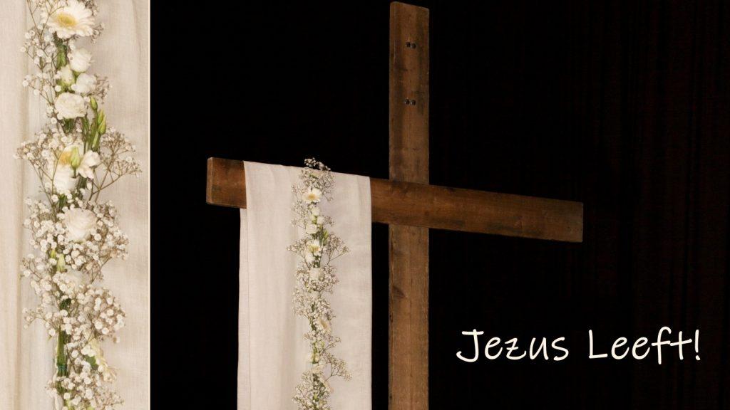 Jezus breekt muren af. (Paasfeest)