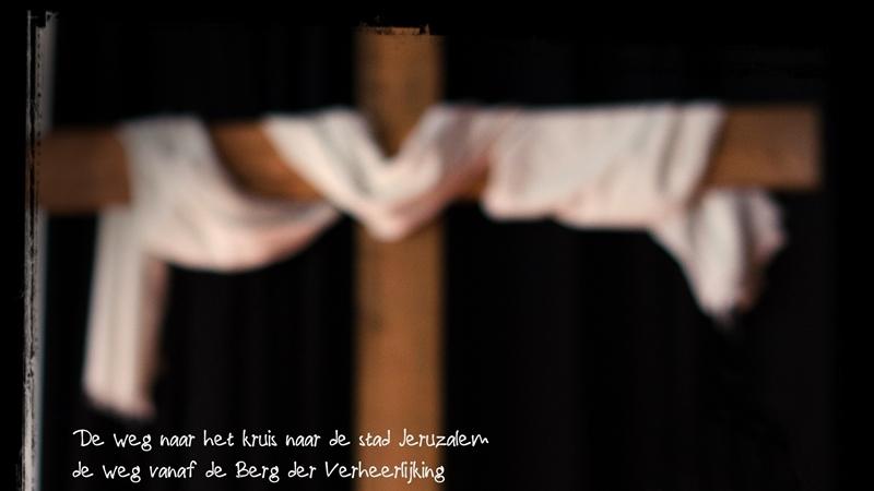 7e Zondag **volgen in het ritme van de rabbi**. Lijden.