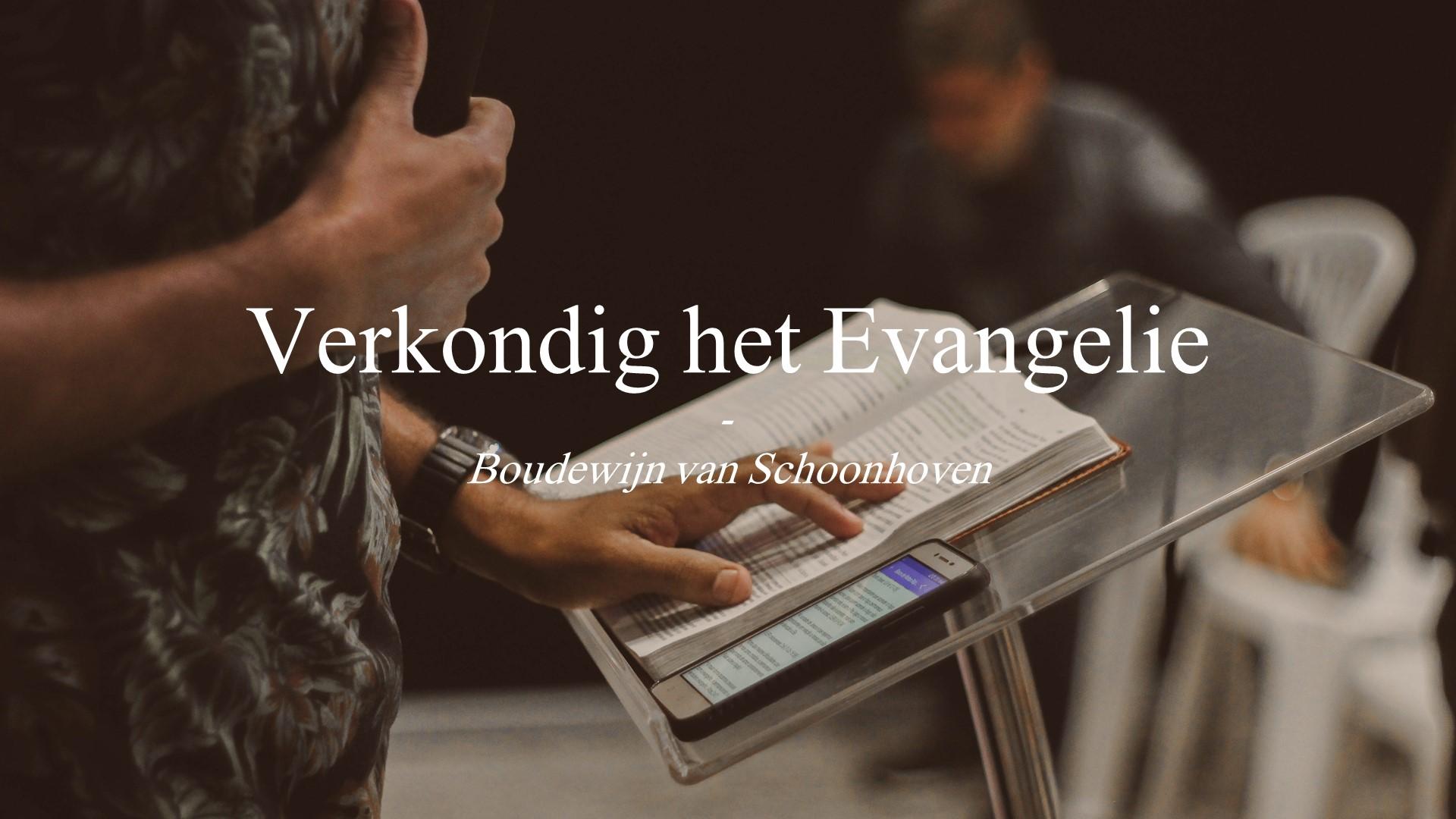 Evangelieverkondiging